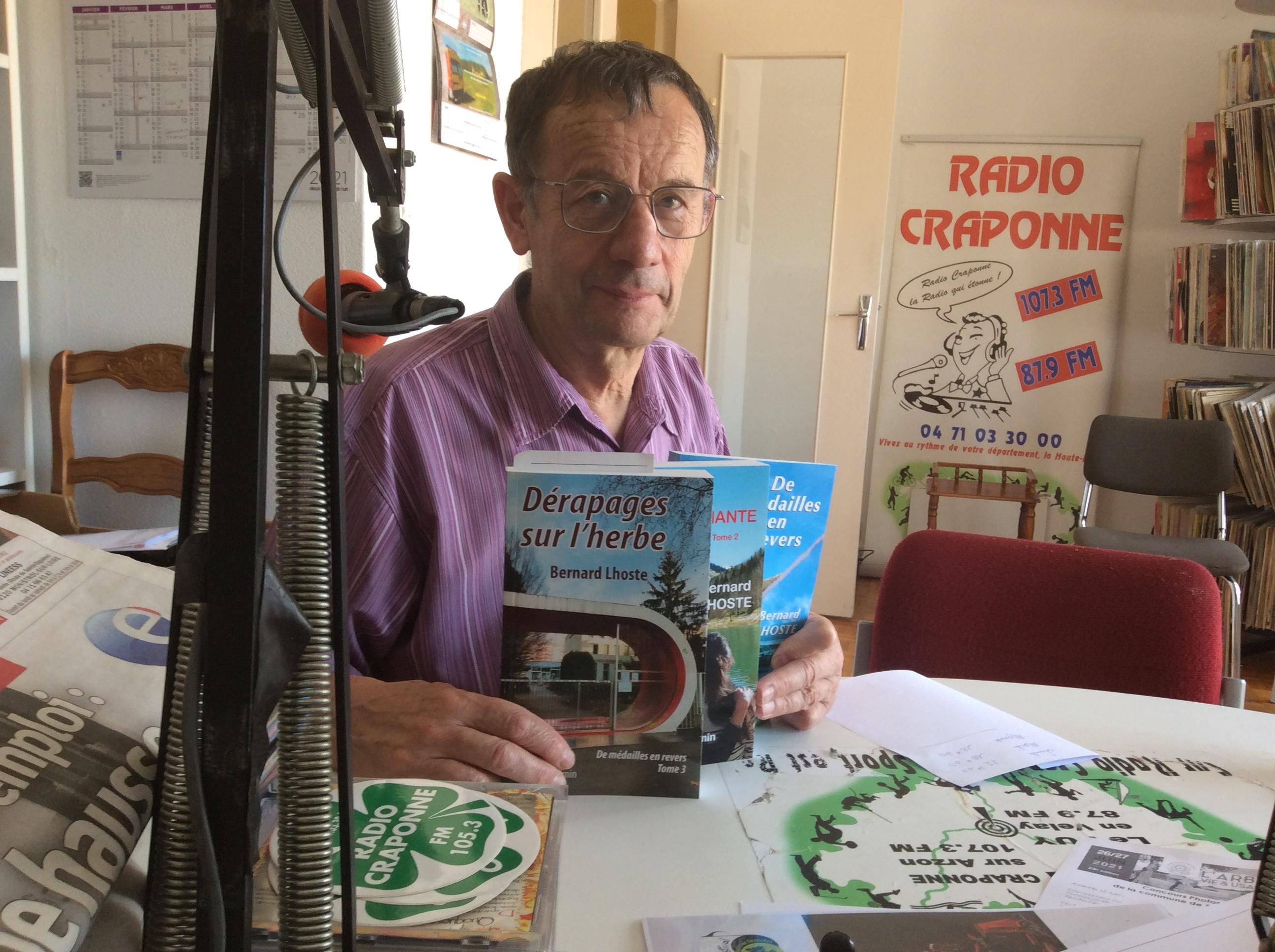 invite du jeudi Bernard Lhoste son dernier roman dérapages sur l'herbe 050721